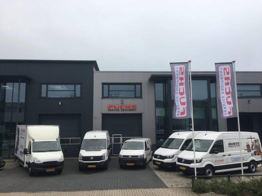 Locatie Veenendaal | Fuchs Equipment